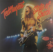 "12"" LP - Ted Nugent - State Of Shock - k2819 - washed & cleaned"