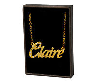 Name Necklace Claire – 18K Gold Plated | Neckless Valentines Love Necless Love