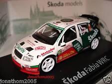 ABREX SKODA FABIA WRC N° 62  RALLYE DE MONTE CARLO 2006 au 1/43°