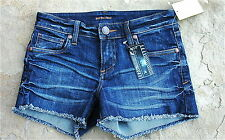 See Thru Soul W's Fray Denim Short Sz 25 $60 NWT
