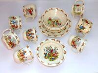 Royal Doulton BUNNYKINS plates mugs cups bowls chois Barbara Vernon