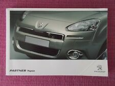 PEUGEOT PARTNER TEPEE  (2012 - 2015) USER MANUAL - HANDBOOK - USER GUIDE (AK 49)