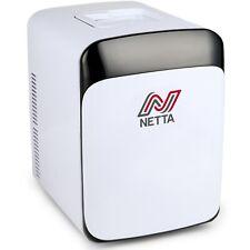 Netta 15 L Blanc Portable Mini Frigo Boissons Refroidisseur De Bière AC/DC 12 V ou secteur