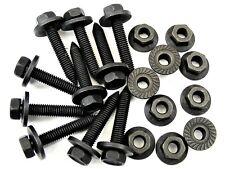 Honda Body Bolts & Flange Nuts- M6-1.0mm x 35mm Long- 10mm Hex- Qty.10 ea.- #394