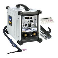 Gys Protig 201 Pulse Dual Voltage Acdc Tig Welder