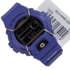 Casio Digital Sport Watch Low Temperature Resistant G-SHOCK G-LIDE Blue Mens