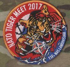 NTM NATO TIGER MEET 2017 B.A.N. Landivisiau Naval Air Base νeΙ©®⚙ NTM PATCH