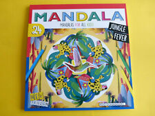 Malbuch Mandala für Erwachsene & Kinder  Dschungel & co 24 Vorlagen