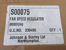 Johnson & Starley JA33-43 JT19-25 JT22-25 JWD25 38-50 Fan Speed Regulator S00075