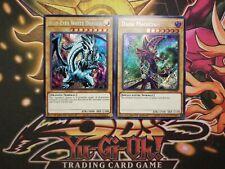 Yugioh Blue Eyes White Dragon + Dark Magician Secret Rare 2 Card Set