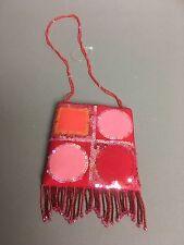 Sue Wong Hot Pink Sequins Small Hand Bag