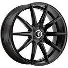 4-Kraze KR194 Cosmos 18x8 5x112 +40mm Gloss Black Wheels Rims 18