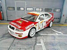 SKODA Octavia WRC EVO3 Rallye Barum Zlin 2002 #1 Kresta Benzina Foxtoys 1:18