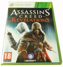 Assassin's Creed Revelations Xbox 360 Ottima 1a Edizione Italiana Con Manuale