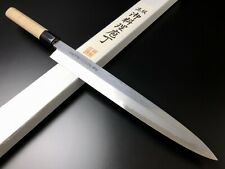 "Japanese Chef's Knife ARITSUGU Blue Steel Yanagi Damascus 270mm 10.62"" AT003bs"