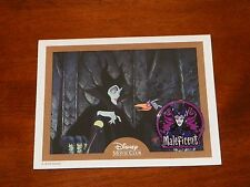 NEW LE Disney Movie Club Collector's Pin & Certificate MALEFICENT