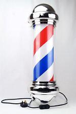 Jitsu LED Rotating Illuminating Barber Pole Sign Salon Hairdresser Shop 73cm