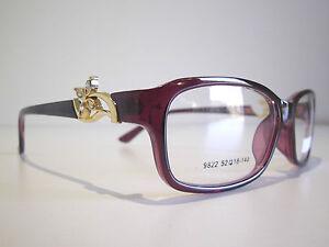 Ladies Prescription Glasses Frame Designer eyeglasses vision spectacles lens New