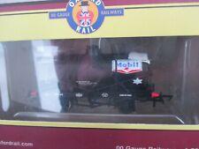 OXFORD RAIL OO GUAGE  OR76TK2001 MOBIL NO64 12 TON OIL TANK WAGON NEW