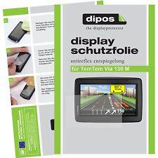 2x TomTom Via 130 M Pellicola Protettiva Pellicola Protettiva Display Opaca dipos Display Pellicola