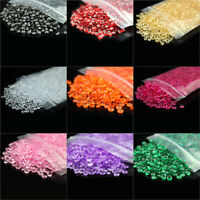 500-20000pc 6mm Acrylic Crystal Diamond Confetti Wedding Table Scatter Wedding D