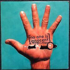 No One Is Innocent CD Single Nomenklatura - France (EX/M)