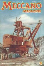1946 MARCH 33575  Meccano Magazine Cover Picture  THE WORLD'S LARGEST SHOVEL