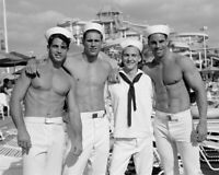WWII rare sailor navy PHOTO Physique beefcake Gay interest GET 1 FREE BUY 2