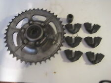 SUZUKI 1978-1980 GS1000 GS 1000 rear hub with sprocket and dampers good teeth