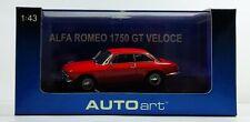 AUTOART ALFA ROMEO 1750 GT 1/43 N°50101