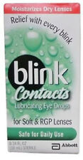 Blink Contacts Lubricating Eye Drops 0.34 oz. 827444000324DT