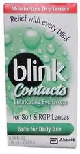 (5PK) Blink Contacts Lubricating Eye Drops 0.34 oz. 827444000324YN