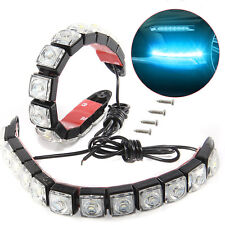Waterproof Car 12 LED DRL Daytime Running Lights Driving Daylight Fog Light Lamp