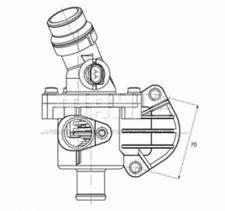 Thermostat Kühlmittel - Behr TM 6 109