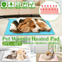 🔥Self-Heatin / Electric Comfortable Pet Do Bed Heated Pad Warmin Mat Do   Z̶ π