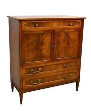John Scalia Schmieg & Kotzian Regency Style Flame Mahogany Chest Dresser
