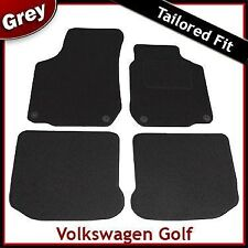 Volkswagen VW Golf Mk4 1997-2004 Tailored Fitted Carpet Car Mats GREY