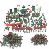 290pcs/set Military Model Playset Toy Soldier Army Men 4cm Action Figure Toys