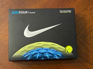 New Nike RZN Black Golf Balls Volt Color - Rare Discontinued
