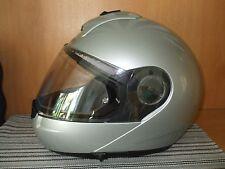 Motorradhelm Schuberth C3 , Klapphelm, Größe M , 56/57, silber