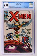 X-Men #49 - Marvel 1968 CGC 7.0 1st App of Polaris (Lorna Dane) and Mesmero!