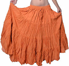 Tribal Fusion Belly Dance Cotton Skirt - 12 yard