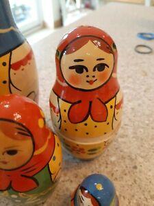 "Russian matryoshka doll 6""."