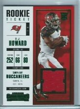 O.J. Howard 2017 Panini Contenders Rookie Ticket Swatches #23