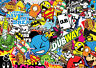 x2 New sticker bombing sheets A4 sticker bomb decal VW Dub Euro style skate
