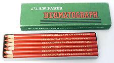 (PRL) A. W. FABER DERMATOGRAPH ANTICA SCATOLA ANTIQUE BOX MATITE CRAYONS PENCILS