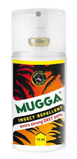 Mosquito and insect repellent Mugga STRONG 75ml DEET 50% für Mücken Deters