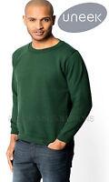 Uneek UC201 Premium Sweatshirt Heavyweight Brushed Effect Work Wear Jumper