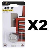 Nite Ize Steelie Magnetic Ball Mount For Steelie Phone & Tablet Socket (2-Pack)