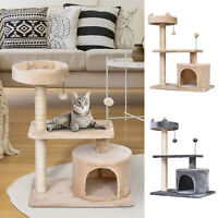 Cat Tree Scratch Post Scratcher Climbing Tower Condo 61L x 41W x 81H cm
